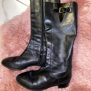 Lightly worn cole haan boots